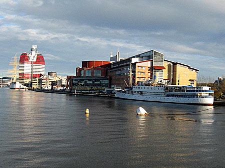 Schweden - Hafen von Göteborg
