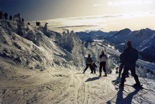 Skiurlaub zu Weihnachten